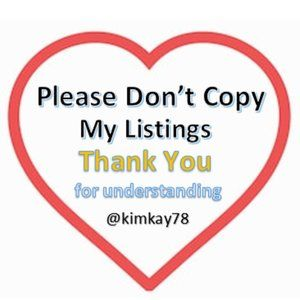 Please do not copy my listings for personal use.